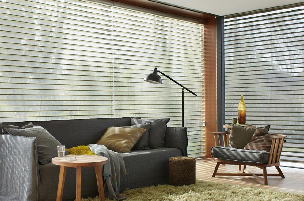 Cortina para projeto residencial. HunterDouglas, referência mundial de design.