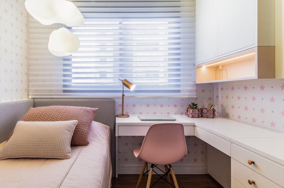 Dormitório infantil. Projeto de arquitetura. Arquiteta Curitiba.