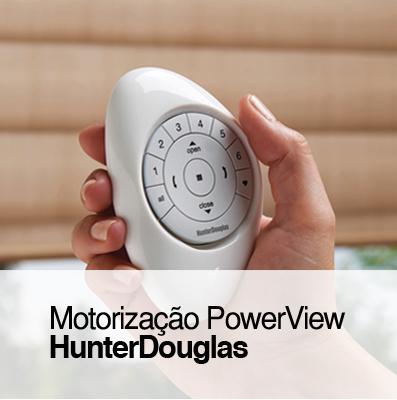 Motorização PowerView HunterDouglas